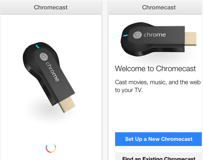 Google Chromecast for iOS